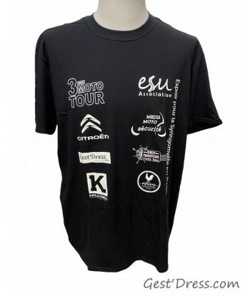 Tshirt 3 ème Moto Tour
