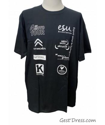 Tshirt 4 ème Moto Tour