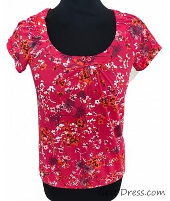 Tshirt fleur