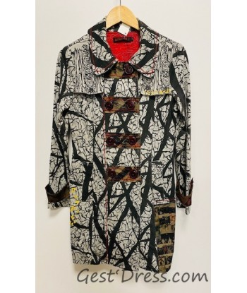 Manteau motif